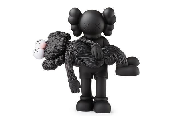 KAWS, 'Gone (Black)', 2019, Sculpture, Painted Cast Vinyl, Curator Style