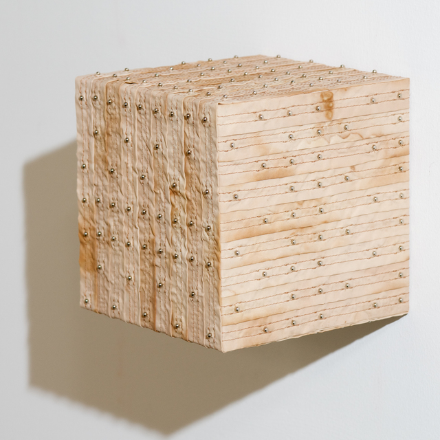 Denise Yaghmourian, 'Stained Cube - Vertical ', 2007, Bentley Gallery