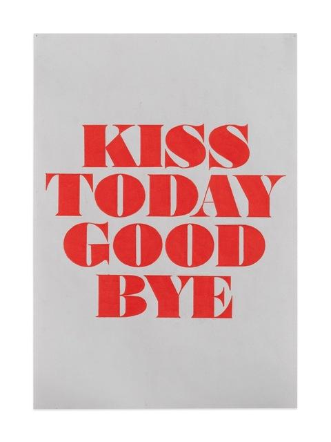 , 'Kiss Today Goodbye (Study),' 2017, Gavlak