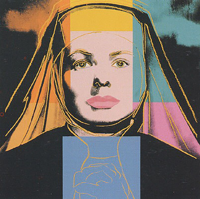 Andy Warhol, 'Ingrid Bergman - The Nun (FS.II.314)', 1983, Taglialatella Galleries