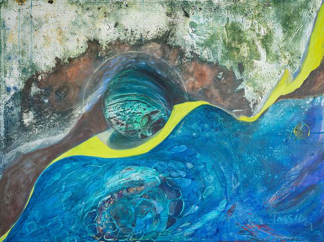 , 'Blue Solitude,' , InLiquid