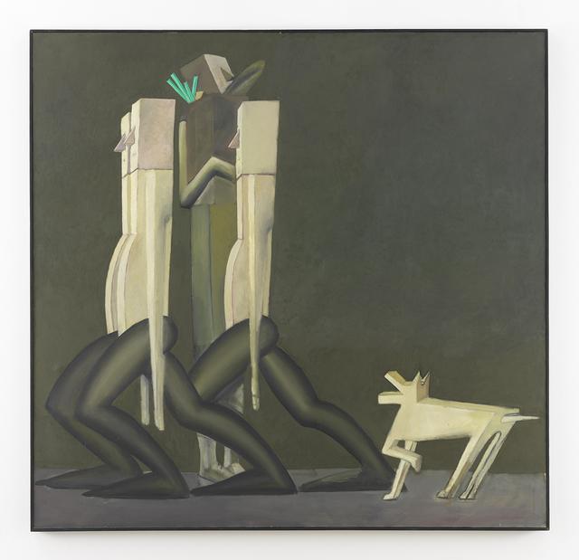 Mernet Larsen, 'Street Scene', 1984, Johannes Vogt Gallery