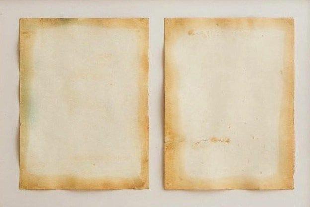 , 'Diptych,' 1962, Richard Saltoun