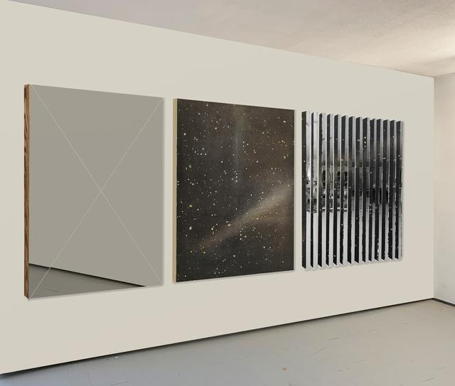 "Paul Amundarain, 'Multiple Realities ""Triptych""', 2019, The Directed Art Modern"