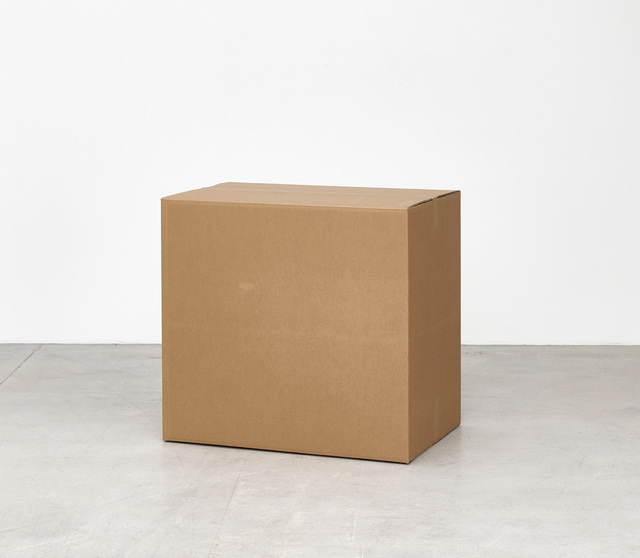 , 'Cardboard Box II,' 2015, Galleri Nicolai Wallner