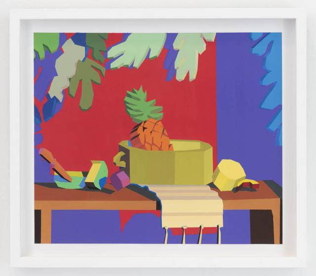 , 'Still Life II (orange frame),' 2018, The Hole