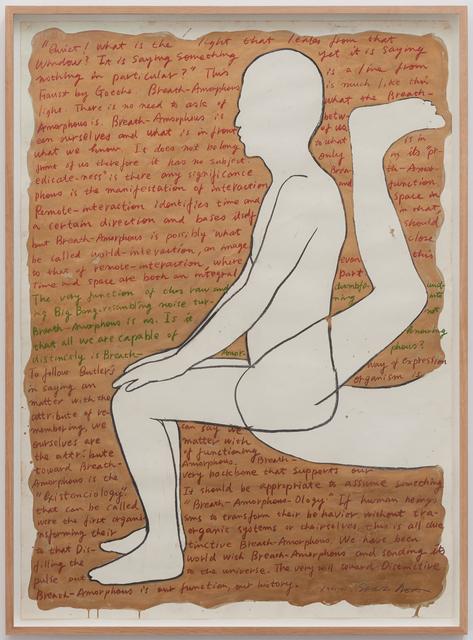 , 'Breath-Amorphous (Human Figure),' 1986, Tatjana Pieters