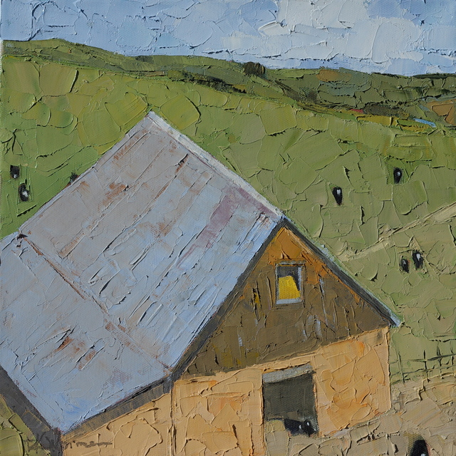 , 'AV: Barn From Above,' , Trailside Galleries