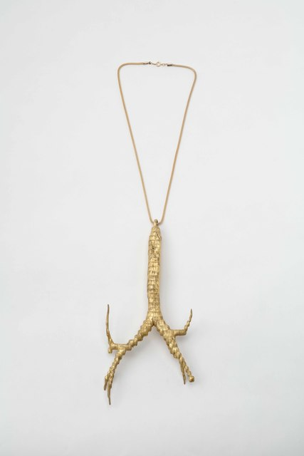 Okada Hiroko, 'Engaged Body: Necklace - trachea ', 2019, Mizuma Art Gallery