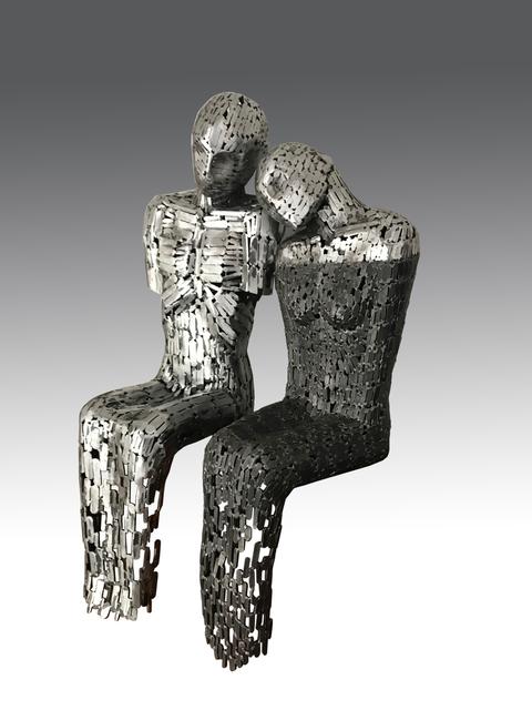 , 'The Couple,' 2018, Albareh Art Gallery