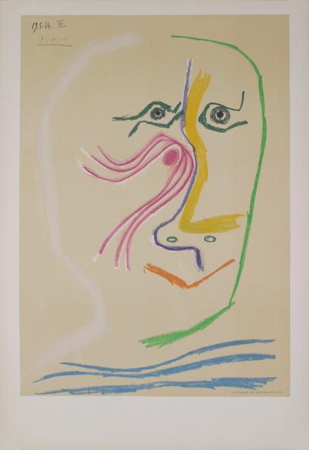 Pablo Picasso, 'Homage a Rene Char - avant lettre', 1969, ArtWise