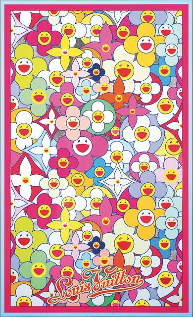 Takashi Murakami, 'LV Cosmic Blossom: Wisdom LV智慧宇宙小花 ', 2010, Asia University Museum of Modern Art