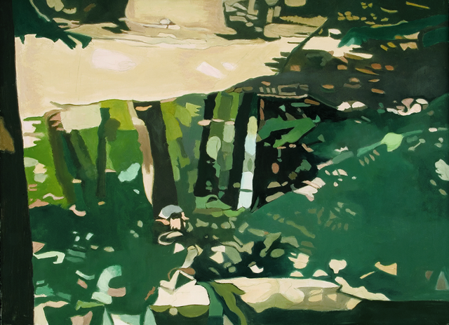 , 'Green Reflections,' 1995, Walter Wickiser Gallery