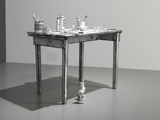 , 'Daedalus' Table,' 2014, Pilar Corrias Gallery