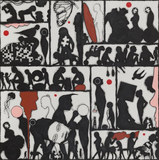 , 'Genus Galatea (diptych),' 2018, Bergman Gallery