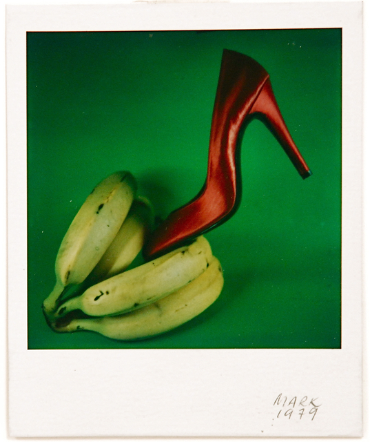 , 'Untitled (Red Shoe & Bananas),' 1976, Sragow Gallery
