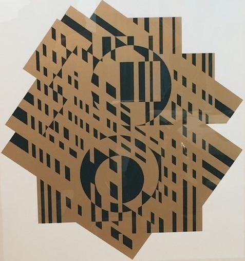 Victor Vasarely, 'Composition géométrique', 1965, Kunzt Gallery