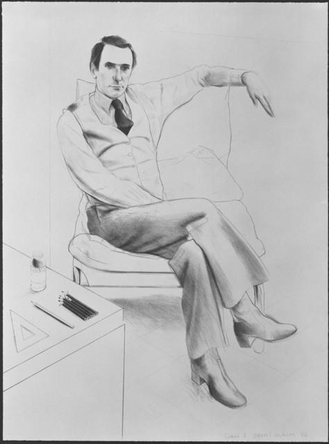 David Hockney, 'Nicholas Wilder', 1976, Gemini G.E.L.
