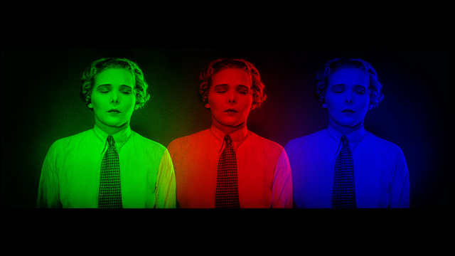 , 'Brainbows,' 2015, Raum mit Licht