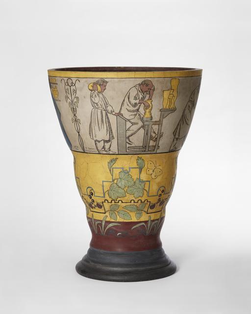 , 'The Potter Vase,' 1900, Statens Museum for Kunst