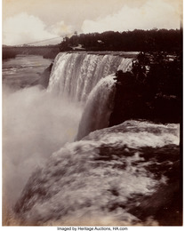 A Group of Five Photographs of Niagra Falls