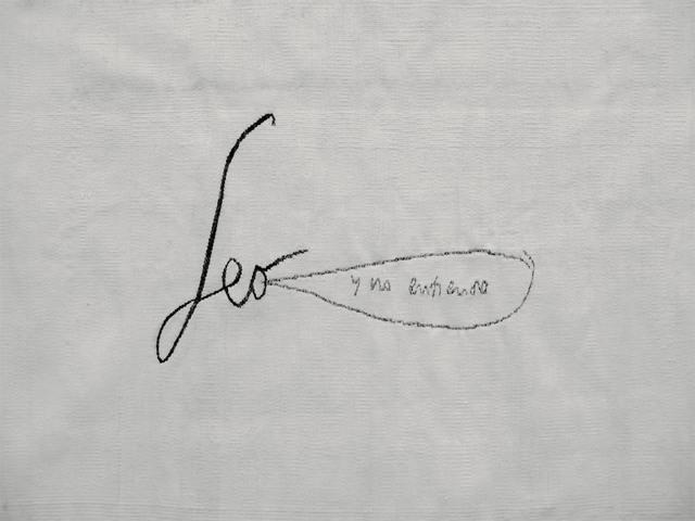 , 'Leo y no entiendo,' 2008, WALDEN
