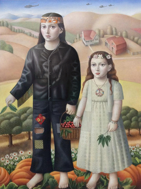 Amy Hill, 'Couple with Plants', 2018, Front Room Gallery