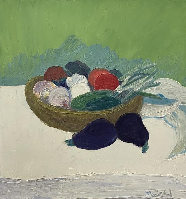 Roger Muhl, 'Panier aux legumes', ca. 2002, Painting, Oil on canvas, Artioli Findlay