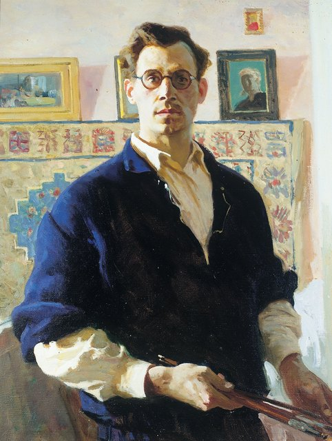, 'Self portrait,' 1947, Surikov Foundation