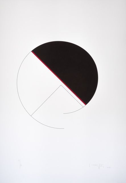 , 'Cercle / diagonale,' 2013, Atelier-Editions Fanal