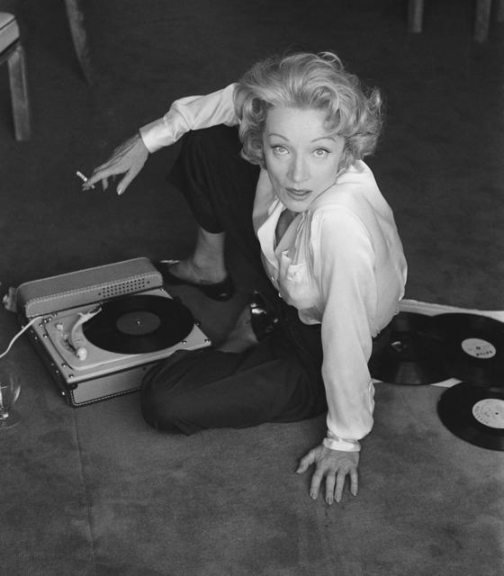 , 'Marlène Dietrich. 1956 à l'hotel de Paris, Monte Carlo, 1956,' 1956, Gallery Vassie