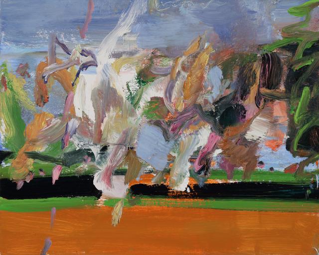 , 'Red Field III,' 2016, Tayloe Piggott Gallery