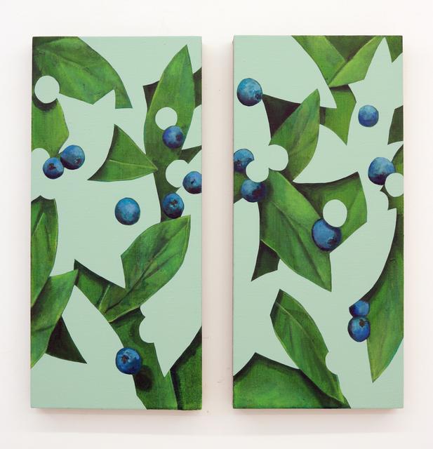 , 'Untitled (Pair),' 2018, Halsey McKay Gallery