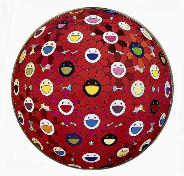Takashi Murakami, 'Flowerball: Bright Red', 2017, VW Contemporary
