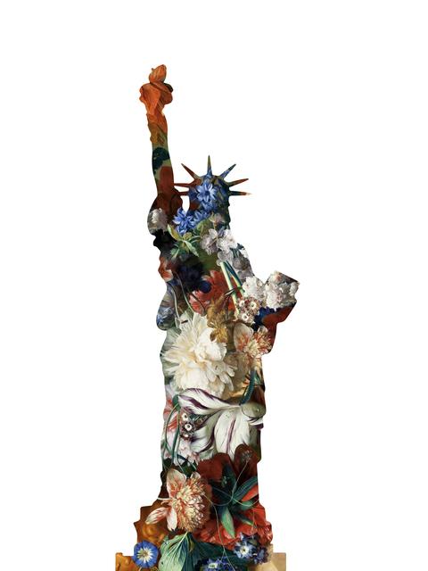 Agent X, 'La statue de la Liberte (White)', 2019, Cerbera Gallery