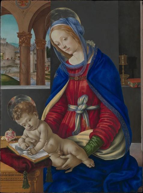 Filippino Lippi, 'Madonna and Child', ca. 1483–1484, The Metropolitan Museum of Art