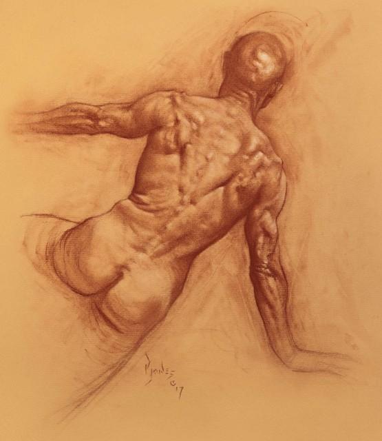 , 'Back Study,' , IX Gallery