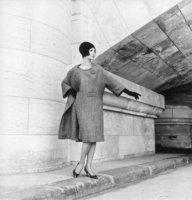 , 'Modell von Nina Ricci,' 1965, Museum für Fotografie