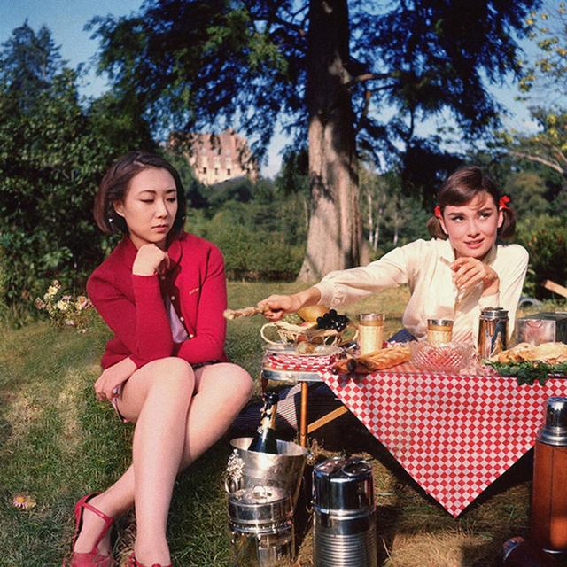 , 'Audrey Hepburn & Celine Liu ,' 2014, MO-Industries