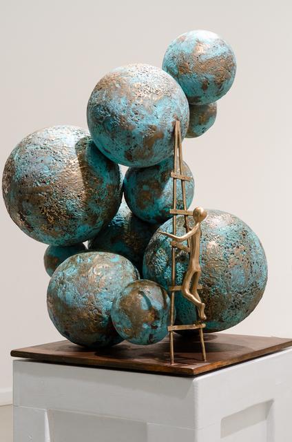 , 'Climbing Worlds,' 2012, Rimonim Art Gallery