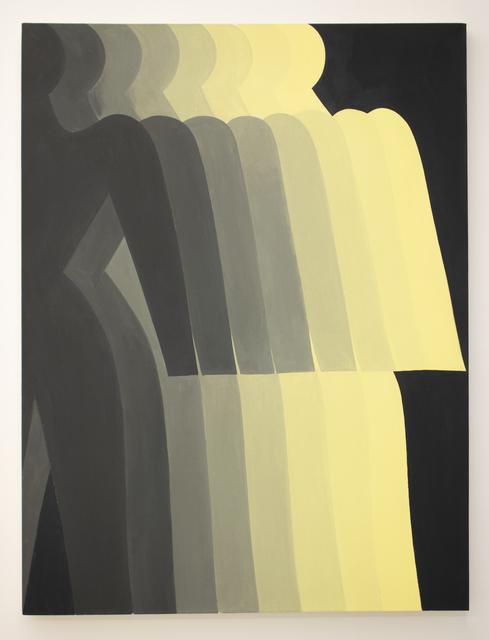 , 'Yellow Shadow,' 2018, Halsey McKay Gallery