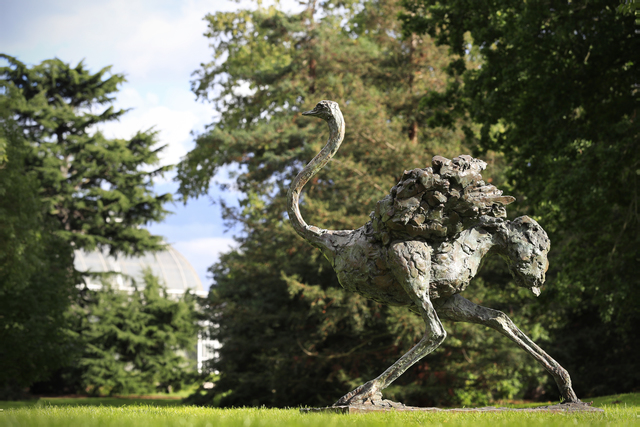 Mark Coreth, 'Galloping Ostrich', 2016, Sculpture, Bronze, Sladmore