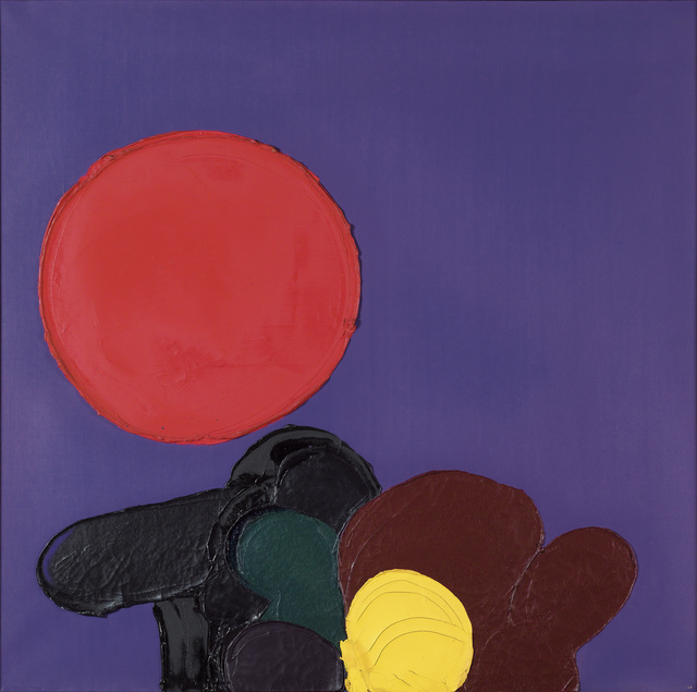 Luis Feito, 'Sans titre', 1971, Painting, Oil on canvas, Omer Tiroche Gallery