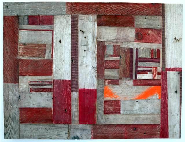 Ovidiu Anton, '73 Streifen', 2015, Christine König Galerie