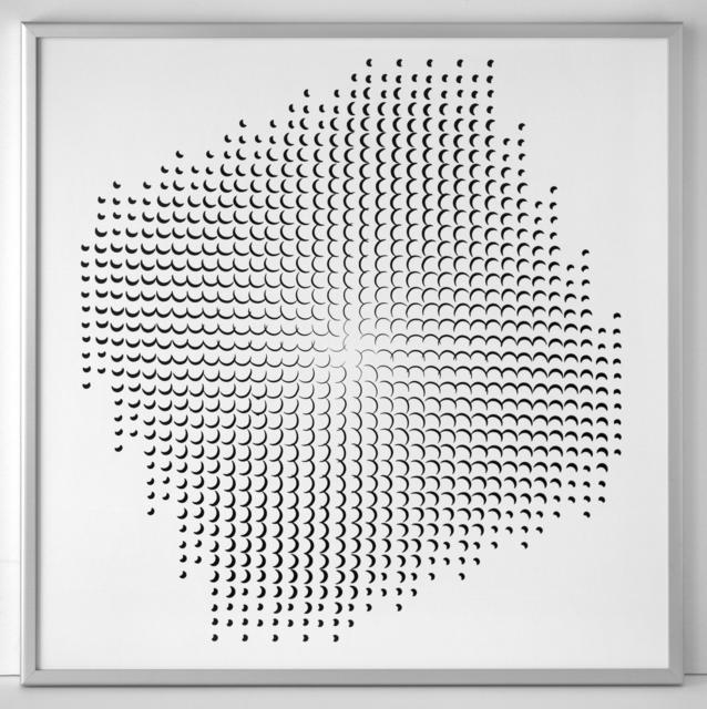 , 'Pinhole Structure 3.8.14 F 2.1.2,' 1967, SCHEUBLEIN + BAK