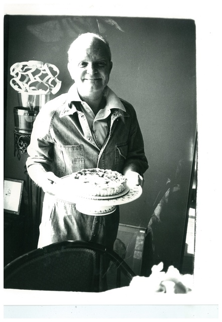 """Andy Warhol, 'Truman Capote (with the birthday cake """"he made"""")', ca. 1980, Hedges Projects"""