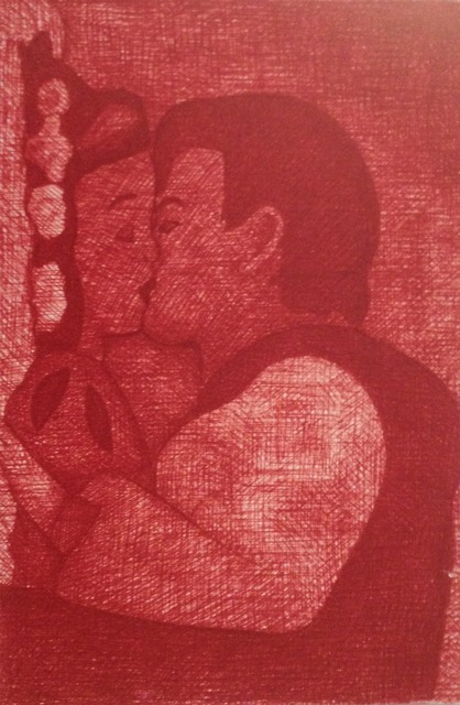 , 'Kiss II,' 2004, Contemporary by Golconda
