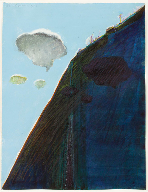 , 'Ridge with Clouds,' 1967, Allan Stone Projects