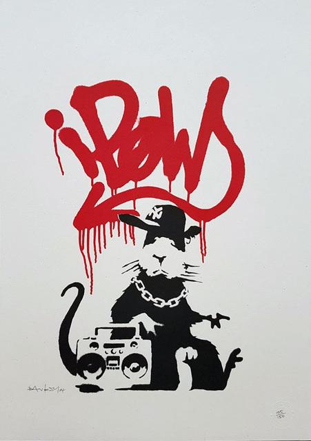 Banksy, 'Gangsta Rat (signed)', 2004, Gormleys Fine Art