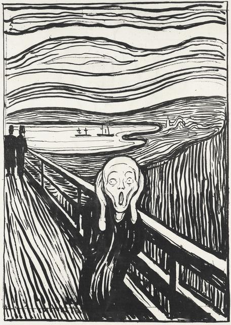 Edvard Munch, 'The Scream', 1895, Museo Thyssen-Bornemisza